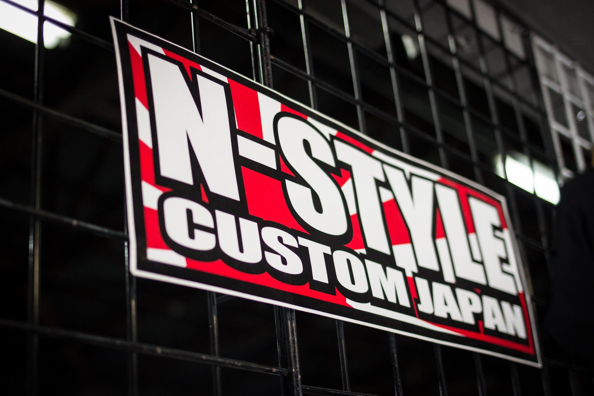 N-Style Custom Japan Sticker